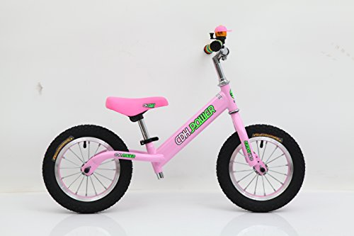 CDHpower 12×2.125 Inch Adjustable Balance Bike, Pink Balance Bike for Ages 2 to 6 Years Old.10.12LB