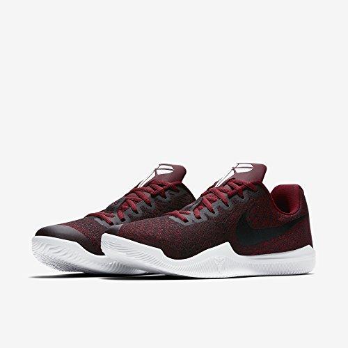 Nike Kobe Mamba Mens Istinto Basket Scarpe Rosso / Rosso-bianco-nero Universitaria