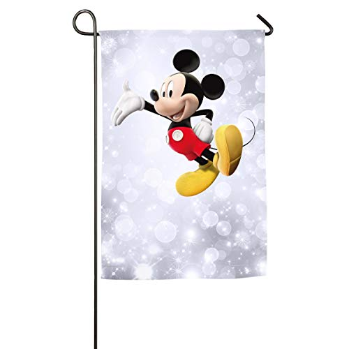 - FOOOKL Cartoon Mickey Mouse Home Family Party Flag 100 Hipster Welcomes The Banner Garden Flags