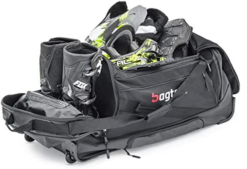 Borsa motocross//Borsa moto con ruote Bagtecs Gearbag Hard XXL 150L