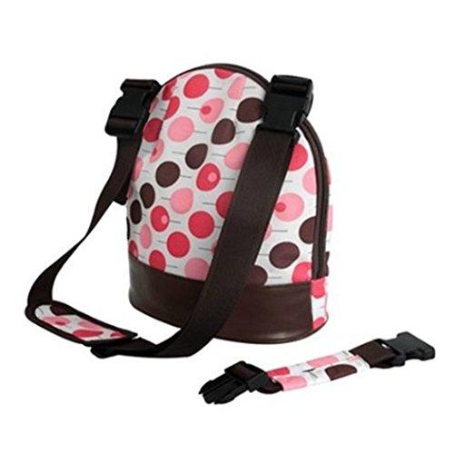 New Baby Insulated Keep Warm Holder Tote Handbag Shoulder Bag for Milk Bottle K1722 (Pink)