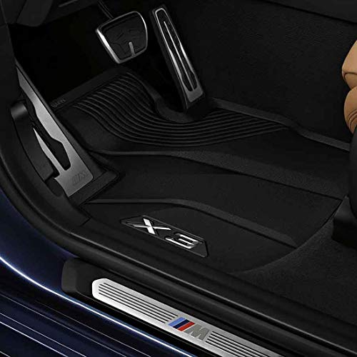 - BMW 51472450511 All-Weather Floor Mats for G01 X3 (Set of 2 Front Mats)