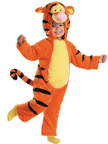 Tigger Deluxe Two-Sided Plush Jumpsuit Costume - Small