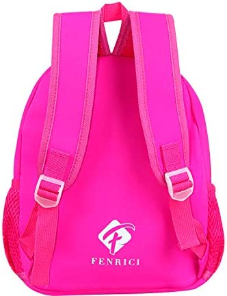12 Butterfly Purple Boys Cute Zoo Animal Bag Toddler Backpack by Fenrici for Girls Insulated Backpack for Kids