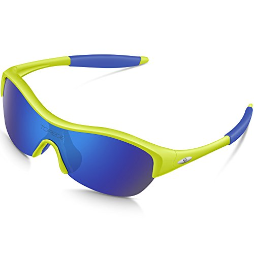 70fca8b80b TOREGE Tr90 Flexible Kids Sports Sunglasses Polarized Glasses for Junior  Boys Girls Age 3-15 Trk001 - Buy Online in UAE.