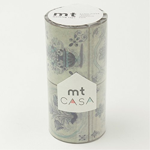 MT CASA Masking Tape, Tile Flower(MTCAS013)