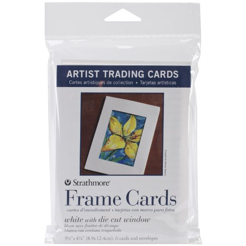 Photo Trading Card - Pro-Art 62105912 Strathmore Artist Trading Card Frame with Envelope, 3-Inch x 5-Inch, 6-Pack