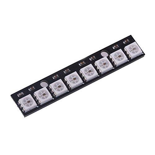 Price comparison product image SODIAL(R) WS2812 8-5050 RGB LED Driver Development Module Board