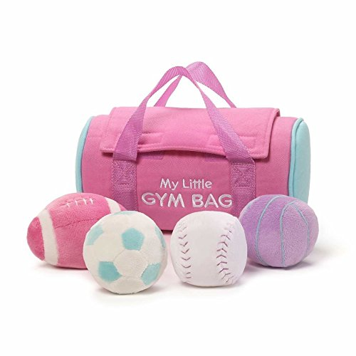 First Sports Bag Playset - Baby GUND My Little Gym Bag Stuffed Plush Playset