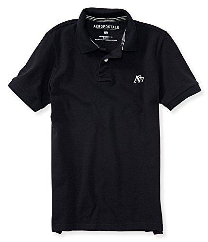 Aeropostale Mens A87 Uniform Rugby Polo Shirt 001 L from AEROPOSTALE