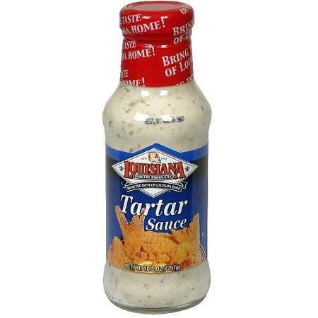 Louisiana Tartar Sauce - Louisiana Fish Fry Products Tartar Sauce, 10.5 Ounce (Pack of 12)