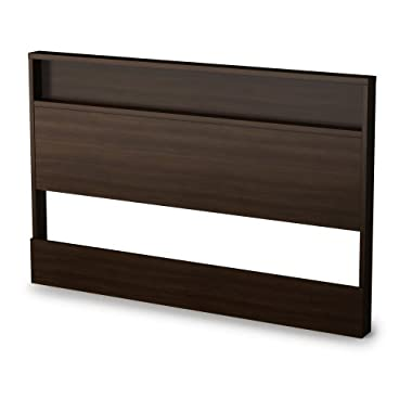 South Shore Trinity Collection Headboard Mocha, Full/Queen