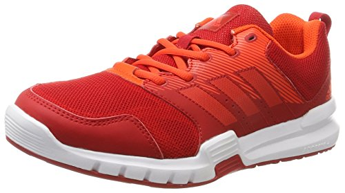 Scarlet Ftwr Multicolore de Essential Running Star Scarlet White adidas M Homme Chaussures 3 zHxqOT