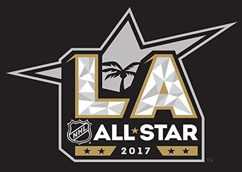NHL 2017 All Star Game LA Kings 3x5 Flag Commemorative