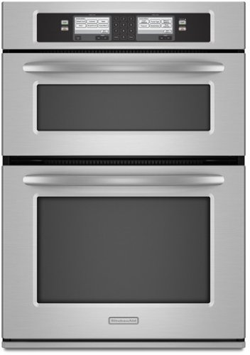 Kitchenaid KEHU309SSS 30 Built In Microwave/Oven Combination With  Steam Assist Technology