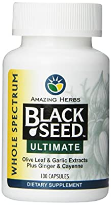 Amazing Herbs Black Seed Ultimate - 100 ct