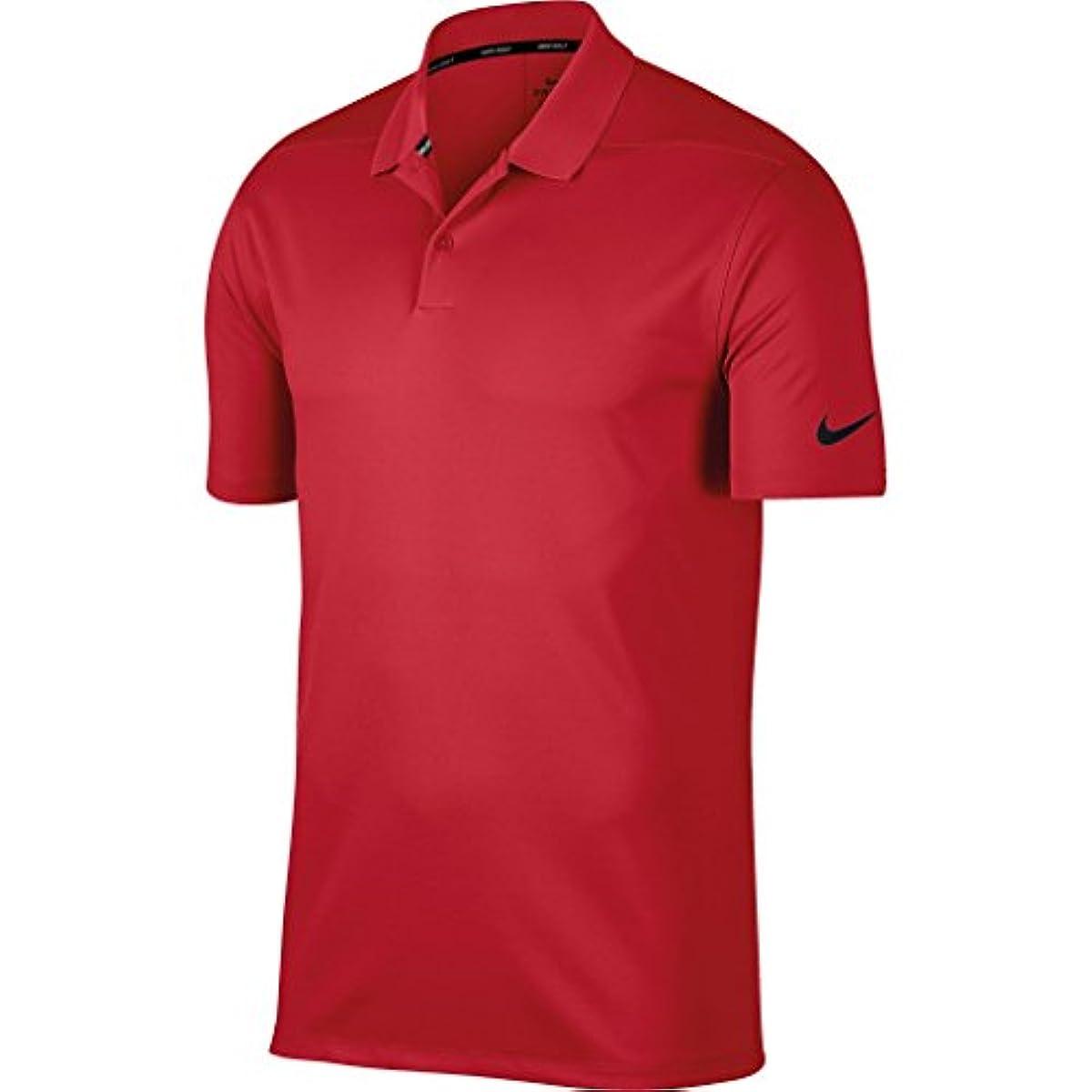 [해외] (나이키) NIKE 맨즈 빅토리 폴로 셔츠 고정 반소매 골프 탑 스포츠 웨어