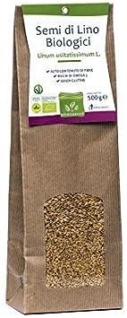 Semillas de Lino Organicas 500 gr: Amazon.es: Salud y cuidado personal