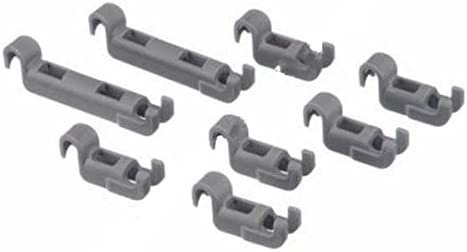 Lote de 8 Bosch Neff lavavajillas Cesta Kit de rodamiento 611472 ...