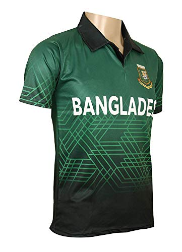 e58f3ceeb KD Cricket Jersey World Cup 2019 Supporter T-Shirt ODI Cricket Team Uniform  India Australia