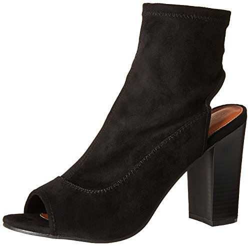 na Ankle Boot, Black Micro, 7.5 Medium US ()