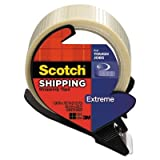 Scotch 8959RD - Extreme Application Packaging Tape amp; Dispenser, 1.88 x 21 yards, 3 Core-MMM8959RD