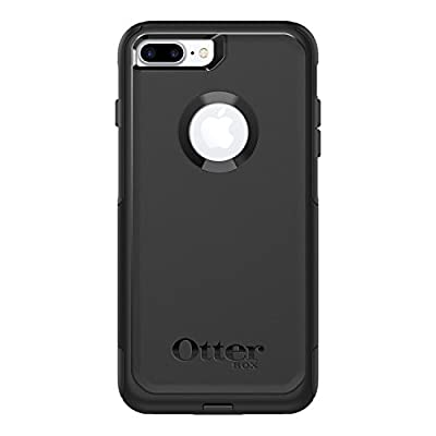 OtterBox COMMUTER SERIES Case for iPhone 8 Plus & iPhone 7 Plus (ONLY) - Retail Packaging - BLACK from OtterBox