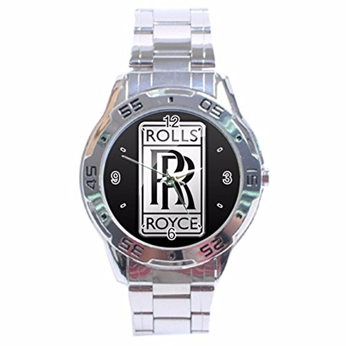 Roll Royce Car Logo Analogue Men Watch Special Edition