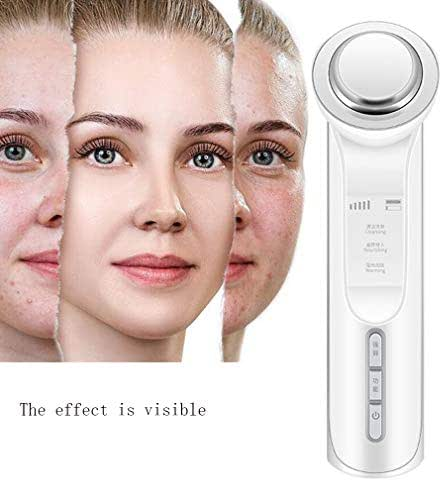 Lucky star ZLY Face Massager, High Frequency Facial Machine,45° Constant Temperature Nutrient Introduction for Skin Care Facial Cleaner Anti-Aging Anti-Wrinkle