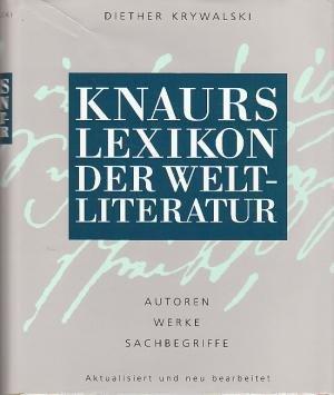 Knaurs Lexikon der Weltliteratur