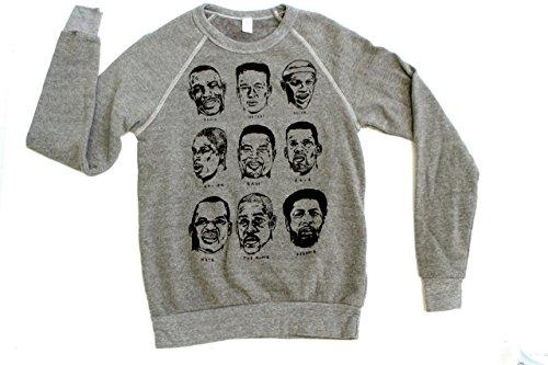 Seattle SONICS heather grey LEGENDS of Key Arena all-time basketball sweatshirt