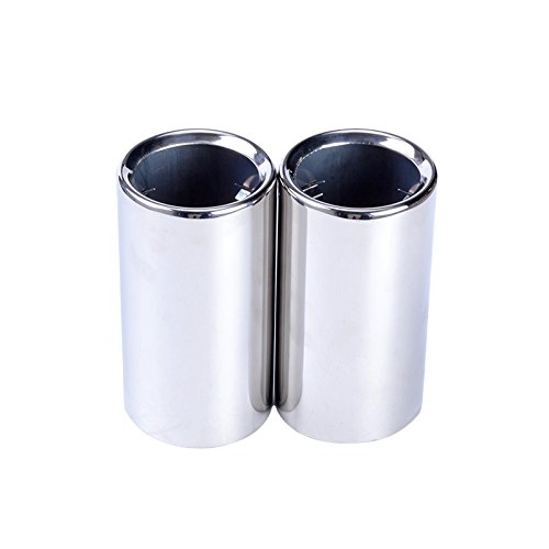 ESPEEDER Pair Muffler Exhaust Tail Pipes Tips for BMW 325i 328i