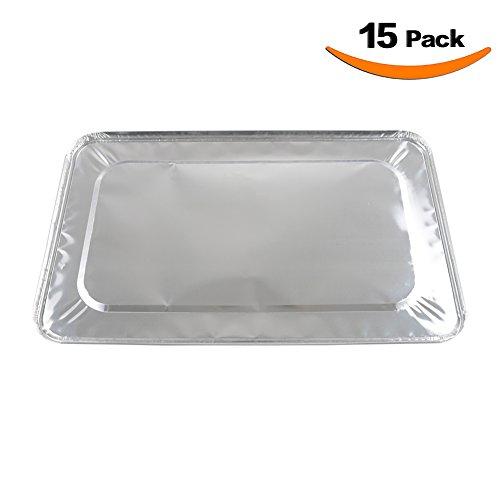 XIAFEI Full Size Foil Steam Table Lids