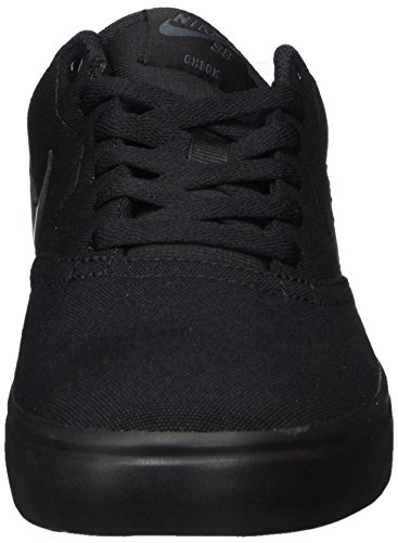 Amazon.com | Nike Mens SB Check Solarsoft Canvas Skate Shoe Black/Anthracite 13 | Fashion Sneakers