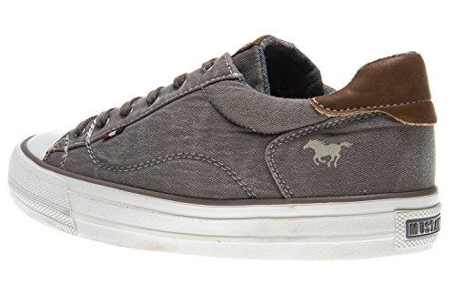 UK Low Grey 5 Mustang 1272 WoMen 44 Beige Sneakers 555 Beige 301 Top xx1PBwZq7n