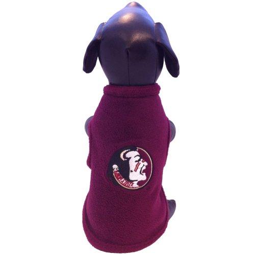 NCAA Florida State Seminoles Polar Fleece Dog Sweatshirt, XX-Small ()