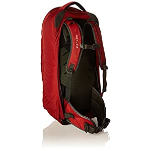 Osprey Packs Farpoint 55 Travel Backpack, Jasper Red, Medium/Large