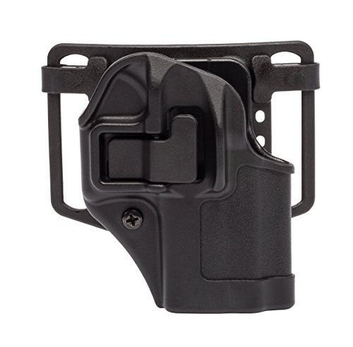 BLACKHAWK Serpa CQC Holster fits Glock 42, Right Hand, Black (Platform Serpa Strike)