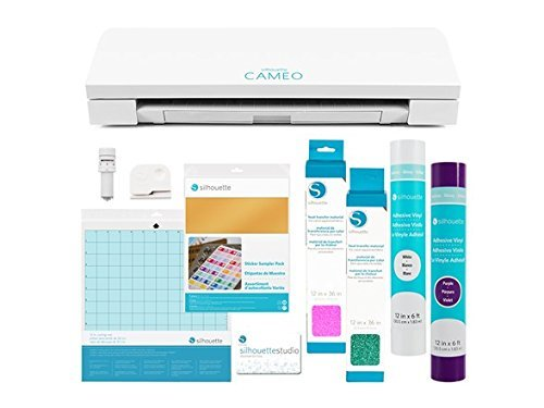 Silhouette Cameo 3 Vinyl and Sticker Bundle