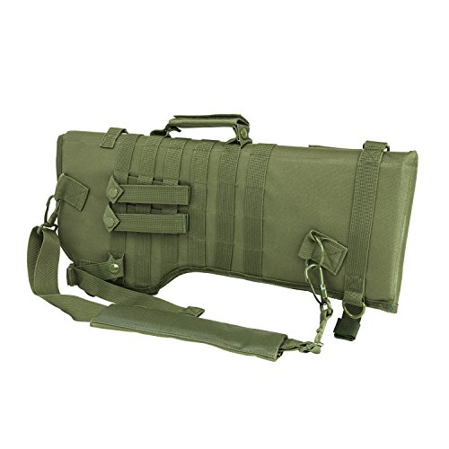 [Ultimate Arms Gear Tactical OD Olive Drab Green Ambidextrous Molle Ruger 10/22 10-22 Mini 14 Mini-14 Ranch Rifle Mini 30 Rifle Scabbard Soft Protective Carry Case] (Mini 14 Magazine)