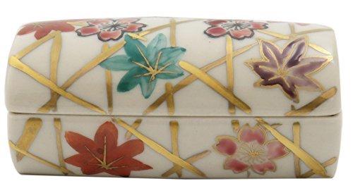 Unkin Kiyomizu Yaki Porcelain 3.5inch Toothpick holder by Watou.asia