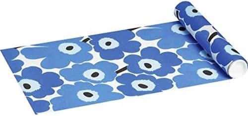 Mari Mekko desechables – Camino de mesa Unikko Blue 33 x 480 cm ...