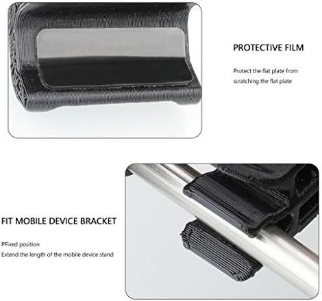 CUEYU Adjustable Cellphone Tablette Monitor Holder Bracket pour DJI Mavic Air 2 Drone,Transimitter Accessories Fits Convient pour Tenir Le téléphone Portable et la Tablette Entre