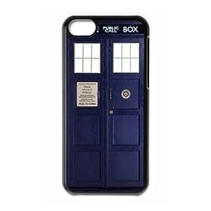 TARDIS Blue Police Call Box Custom Case for iPhone 5C