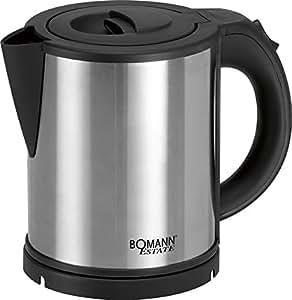 Bomann WKS 1361 CB, Negro, Acero inoxidable, 230 V, 50 Hz, Acero inoxidable - Calentador de agua