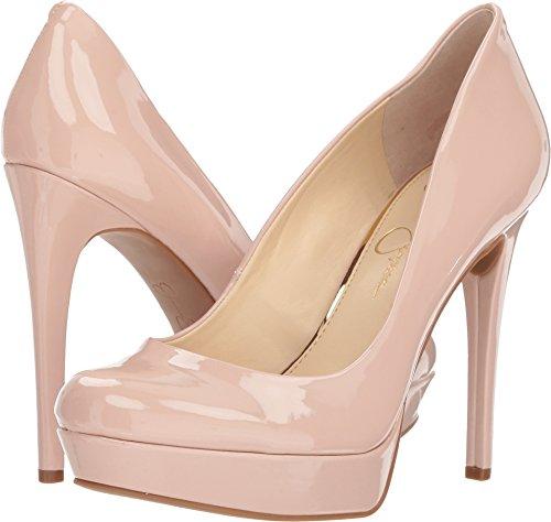 Jessica Simpson Women's Baleenda Nude Blush Patent 6 M US M (Leather Platforms Jessica)