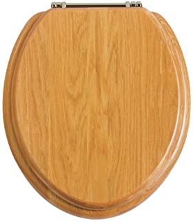 soft close wooden toilet seat hinges. Heritage oak Toilet Seat Replacement Soft Close Hinge Set for Oak Wood WC Seats