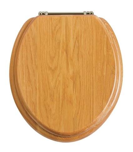 Heritage Oak Toilet Seat
