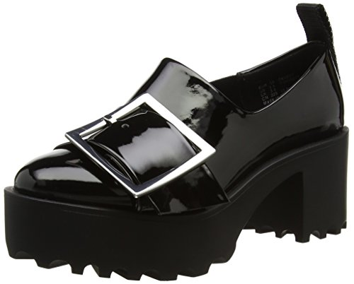 Cheap Monday 0404215, Zapatos con Plataforma Mujer Negro (Black)