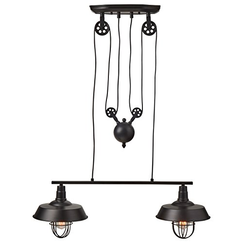 Pulley Pendant Lights Kitchen in US - 2